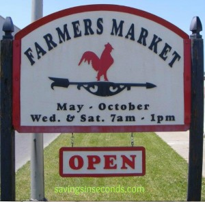 Farmer's Market and CSA savings : Savingsinseconds.com