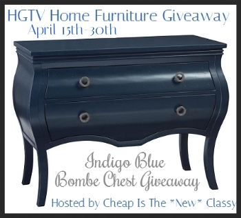#Enter to #win this beautiful Bombe Chest from HGTV Home Furniture! savingsinseconds.com