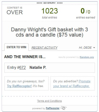 Danny Wright music basket