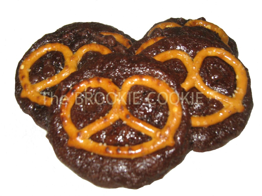 The pretzel cookie from Brookie!  featured on savingsinseconds.com