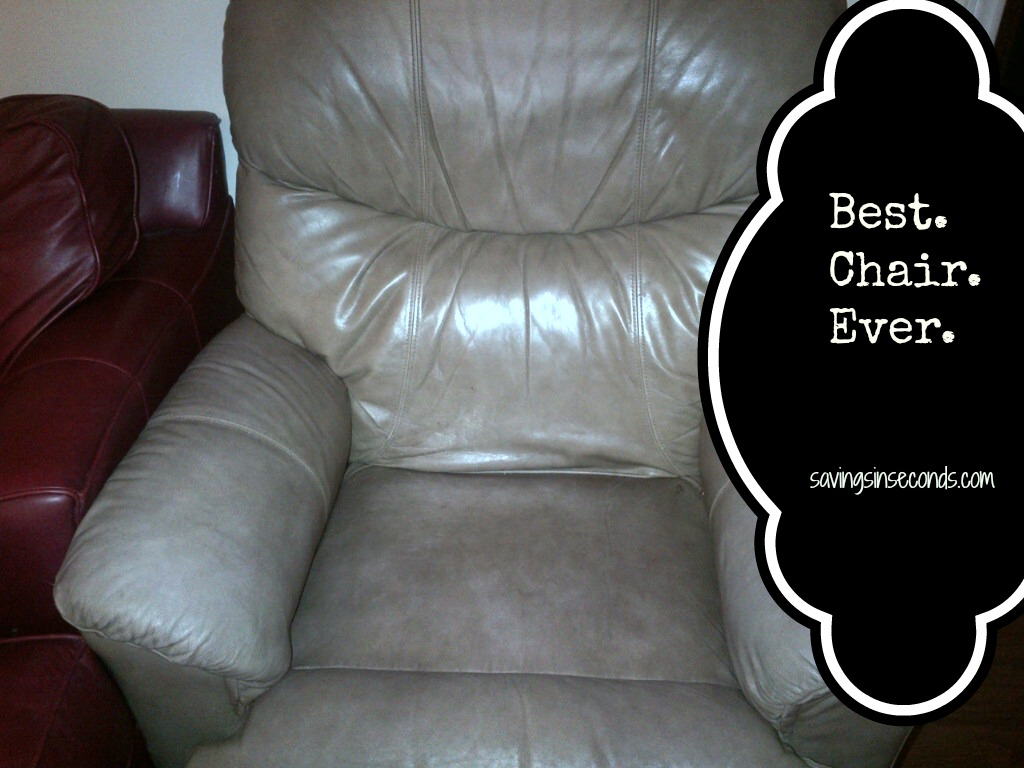 Best. Chair. Ever.  savingsinseconds.com