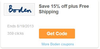 Boden discount through Coupons.com -- savingsinseconds.com