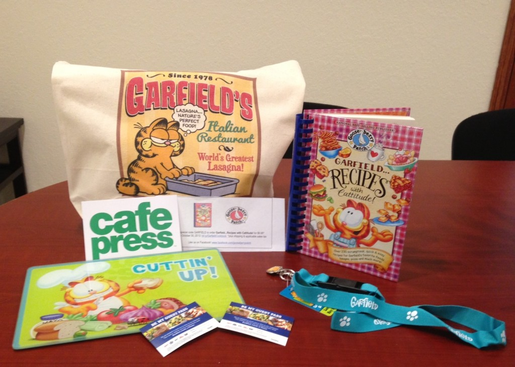 Enter to win a Garfield prize pack!  savingsinseconds.com