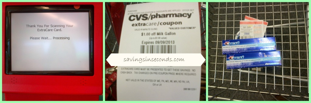 Tips to save with the magic coupon machine at CVS -- savingsinseconds.com