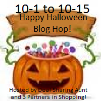 Enter the Happy Halloween Blog Hop Giveaway!  Savingsinseconds.com