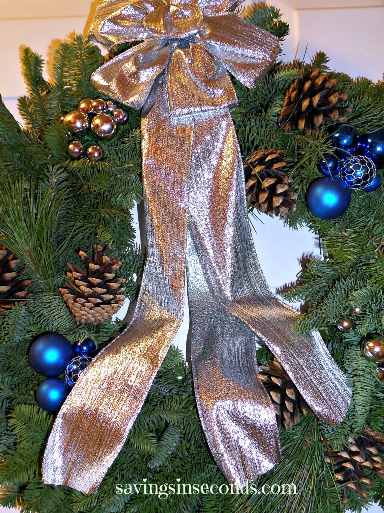 You could win a Jazz-A-Tazz wreath from Christmas Forest! savingsinseconds.com