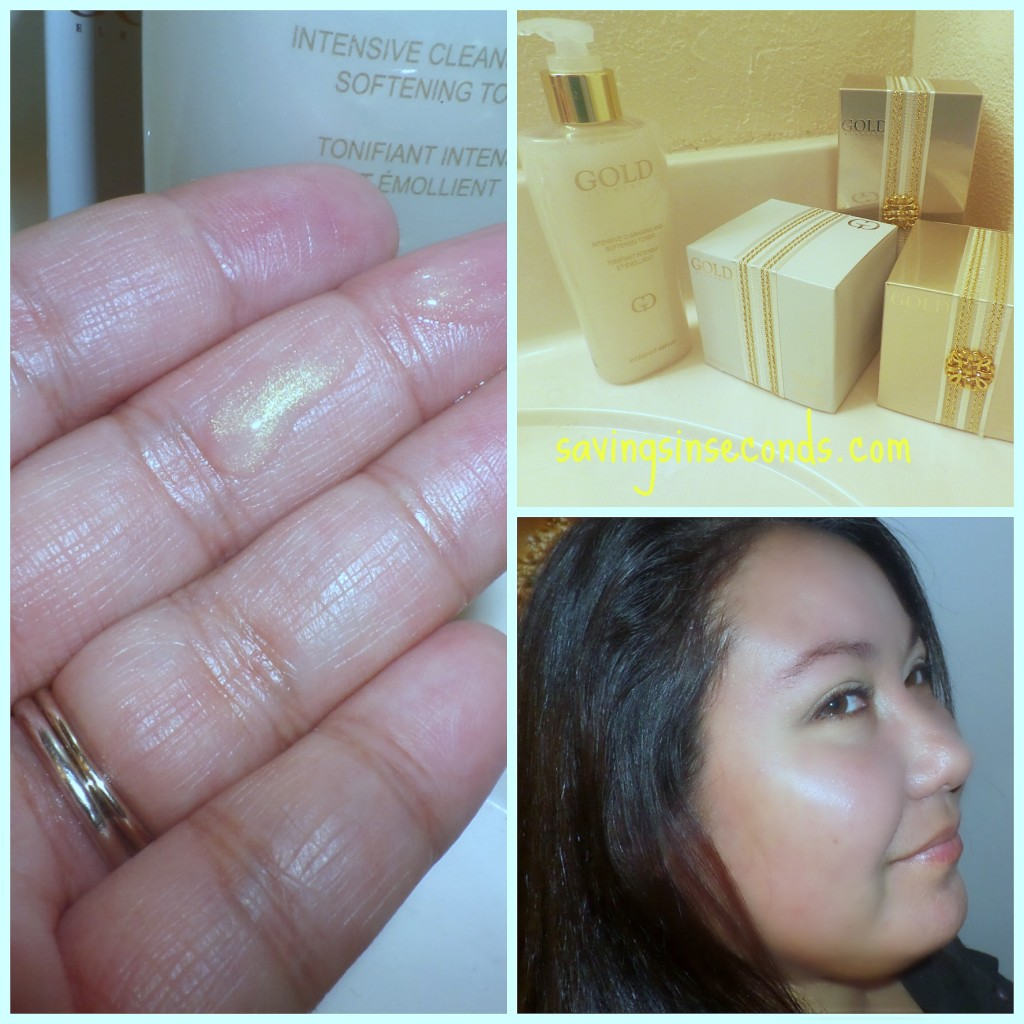 GOLD Elements skincare -- savingsinseconds.com #ad