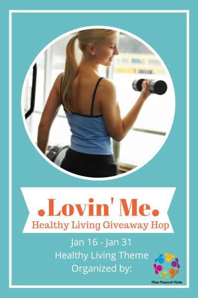 Lovin' Me Healthy Living Giveaway Hop -- savingsinseconds.com