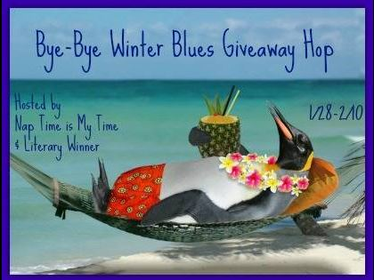Enter the Bye Bye Winter Blues giveaway at savingsinseconds.com