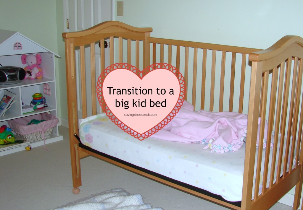 Transition to a Big Kid Bed - savingsinseconds.com
