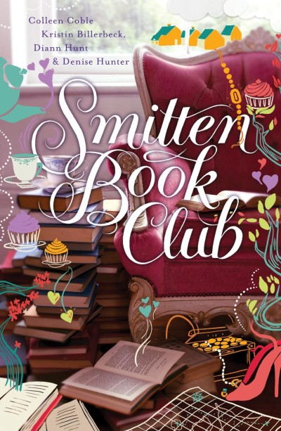 Smitten Book Club is on my bookshelf.  savingsinseconds.com