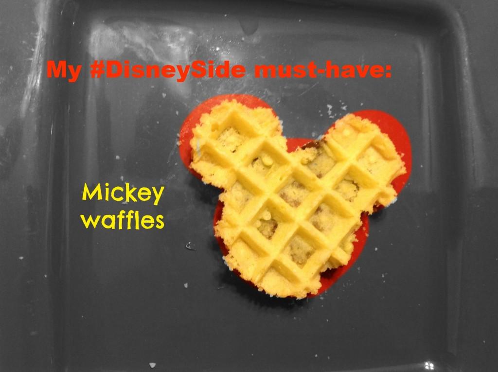 #DisneySide must have: Mickey Waffles