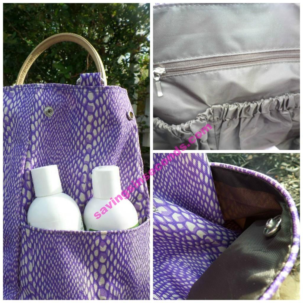 LinaJake bag - vegan leather - enter to win your Lina Bag at savingsinseconds.com
