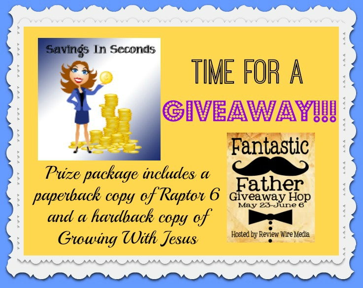 Fantastic Father prize - enter at Savingsinseconds.com