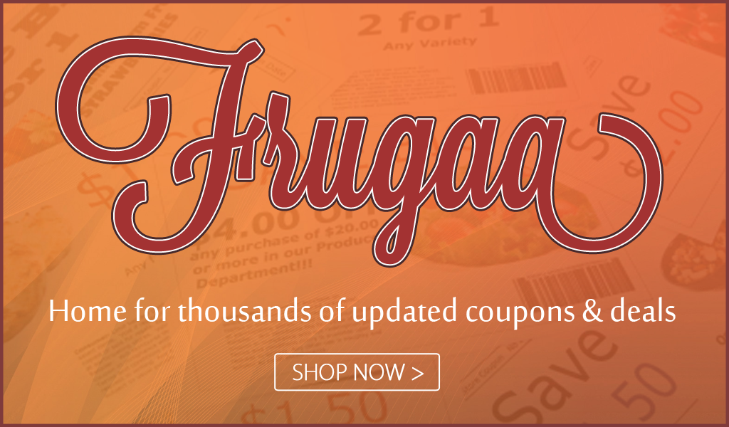 Check out @FrugaaDotCom for online savings. #ad savingsinseconds.com