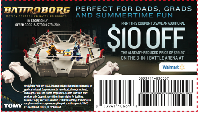 Battroborg coupon - savingsinseconds.com