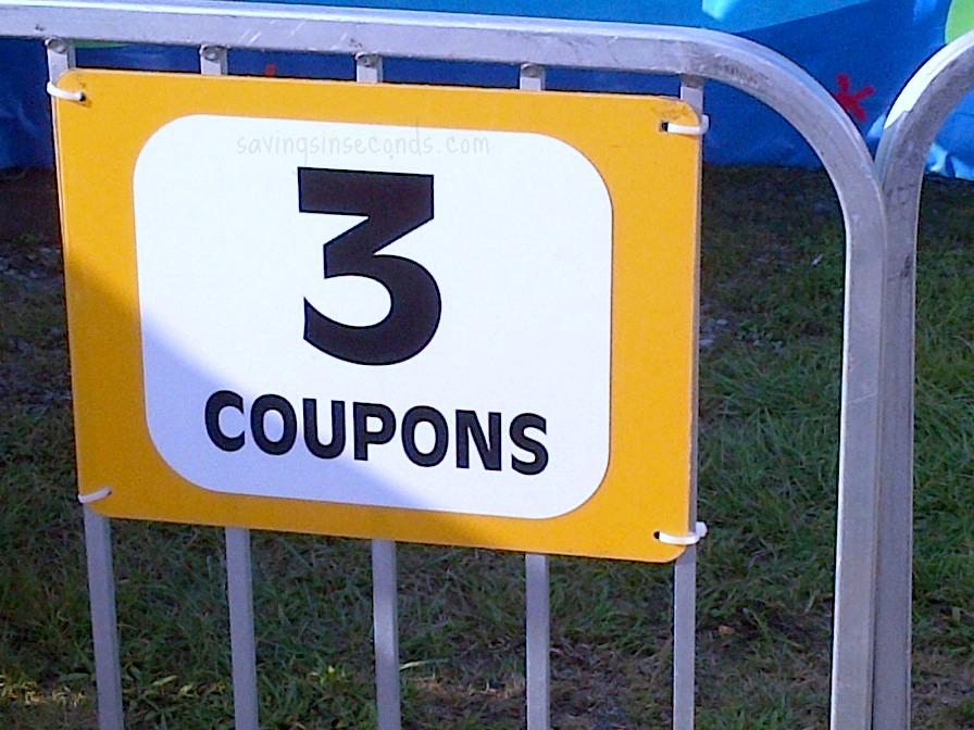 Coupons at the fair - savingsinseconds.com