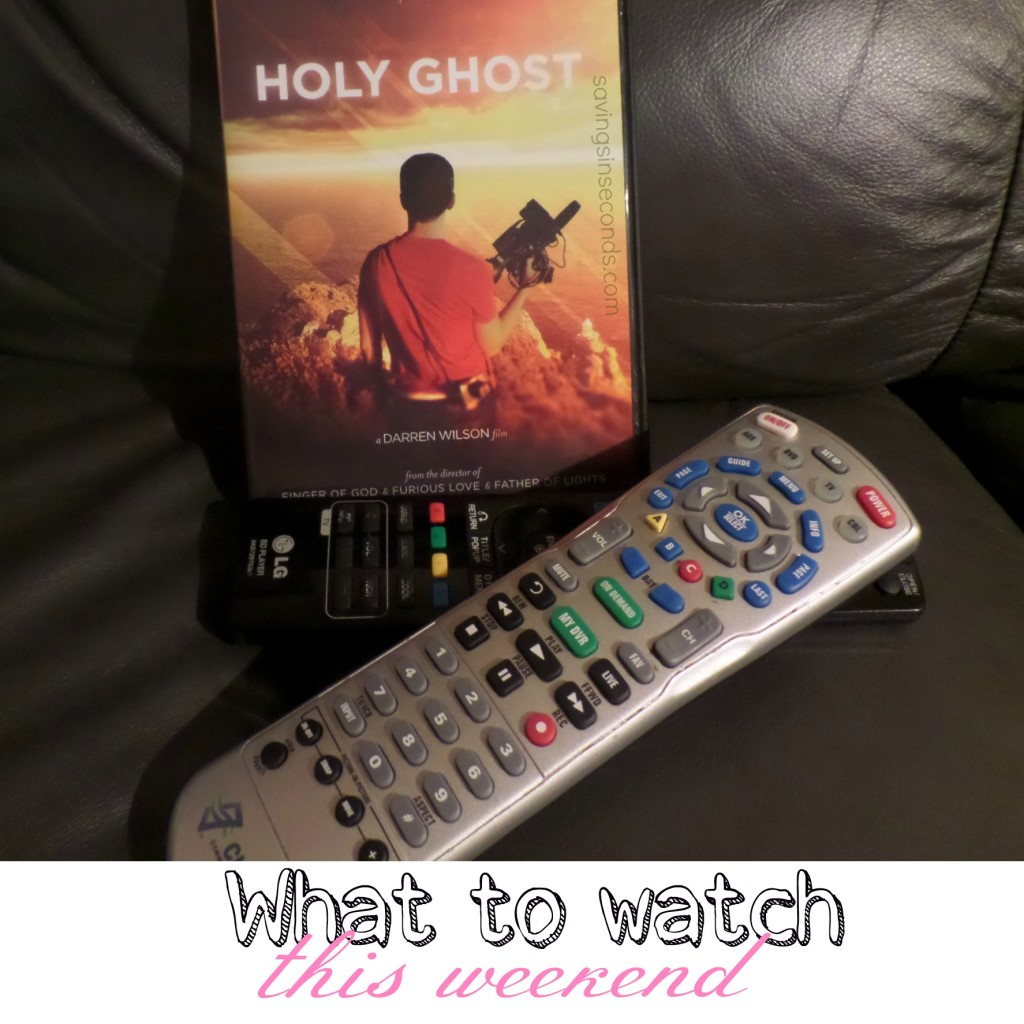 Holy Ghost premiere September 6! savingsinseconds.com