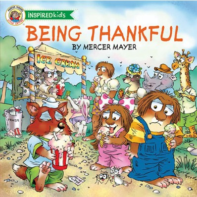 Being Thankful - enter to win the new Little Critters book from @TommyNelson at savingsinseconds.com