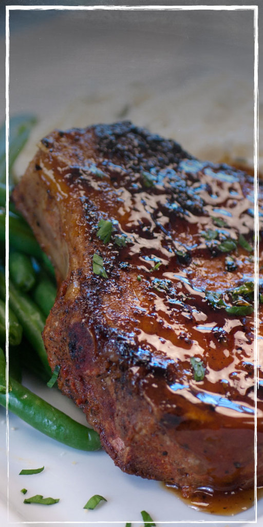 How does Hickory Bourbon-Blazed Pork Chop sound tonight?  BOGO coupon for Ruby Tuesday - printable! Plus a $25 giveaway -- find out more at savingsinseconds.com