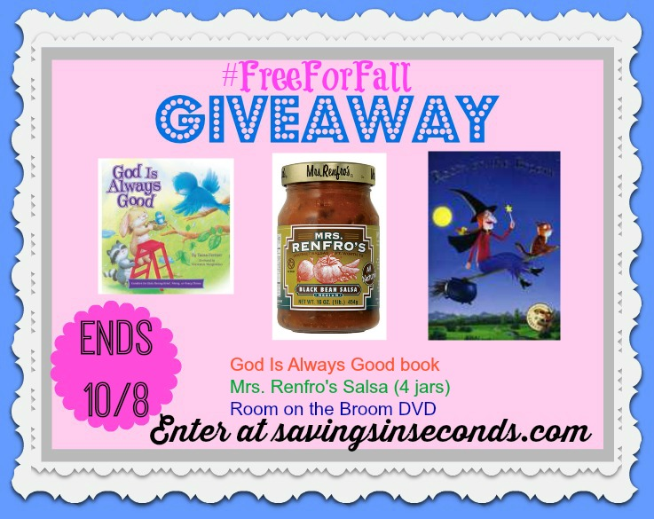 Enter the #Freeforfall #giveaway at savingsinseconds.com