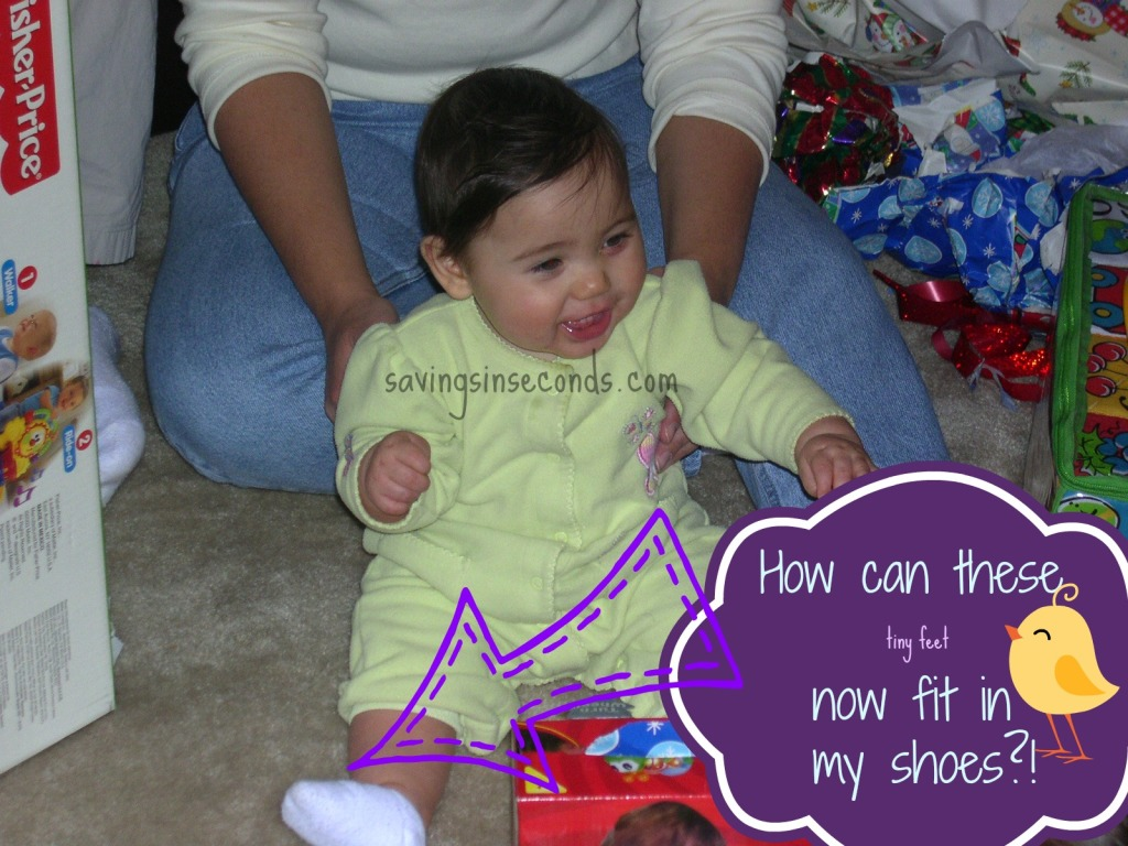 How can these tiny feet fit in my shoes?!