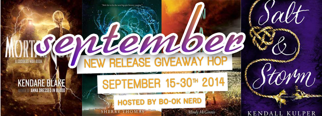 Enter for a chance to win a September New Release ---> savingsinseconds.com