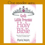 God's Little Princess Bible + devotions from Sheila Walsh book review
