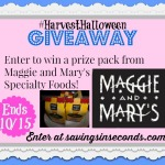 Harvest Halloween Giveaway featuring Maggie and Mary's products