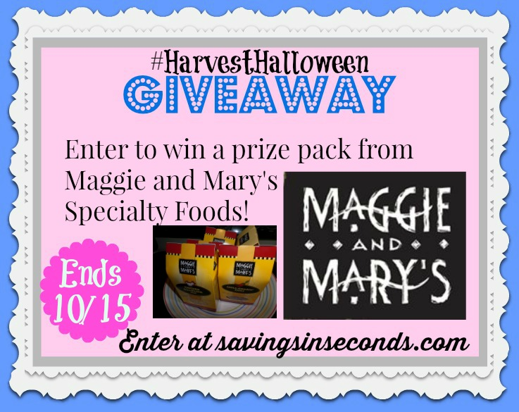 Enter to win a prize package from Maggie and Mary's - savingsinseconds.com