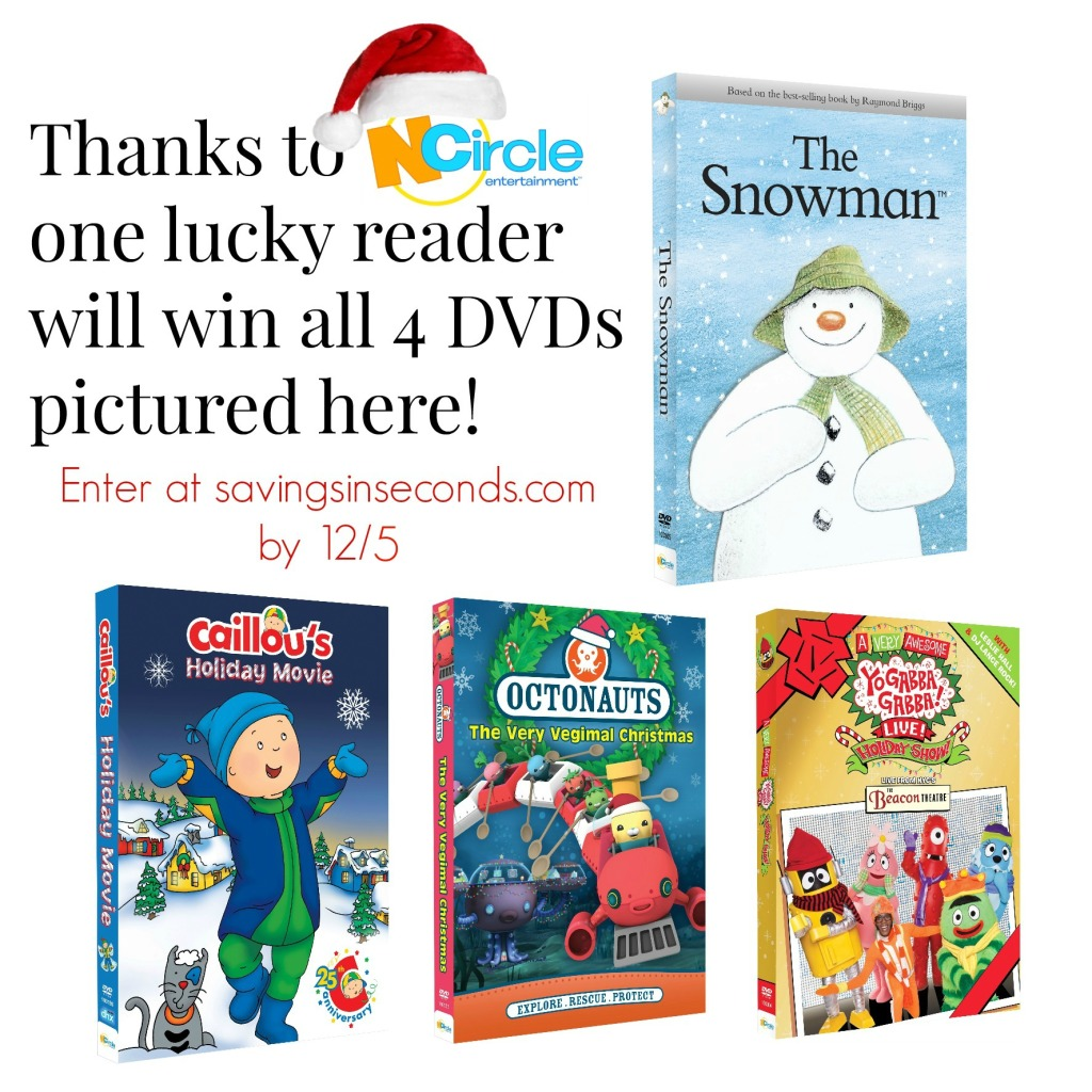 Win Holiday Ncircle DVDs in the #RWMevent #giveaway - ends 12/5 savingsinseconds.com