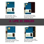 A life in Bibles — get yours on sale at Family Christian! #sponsored