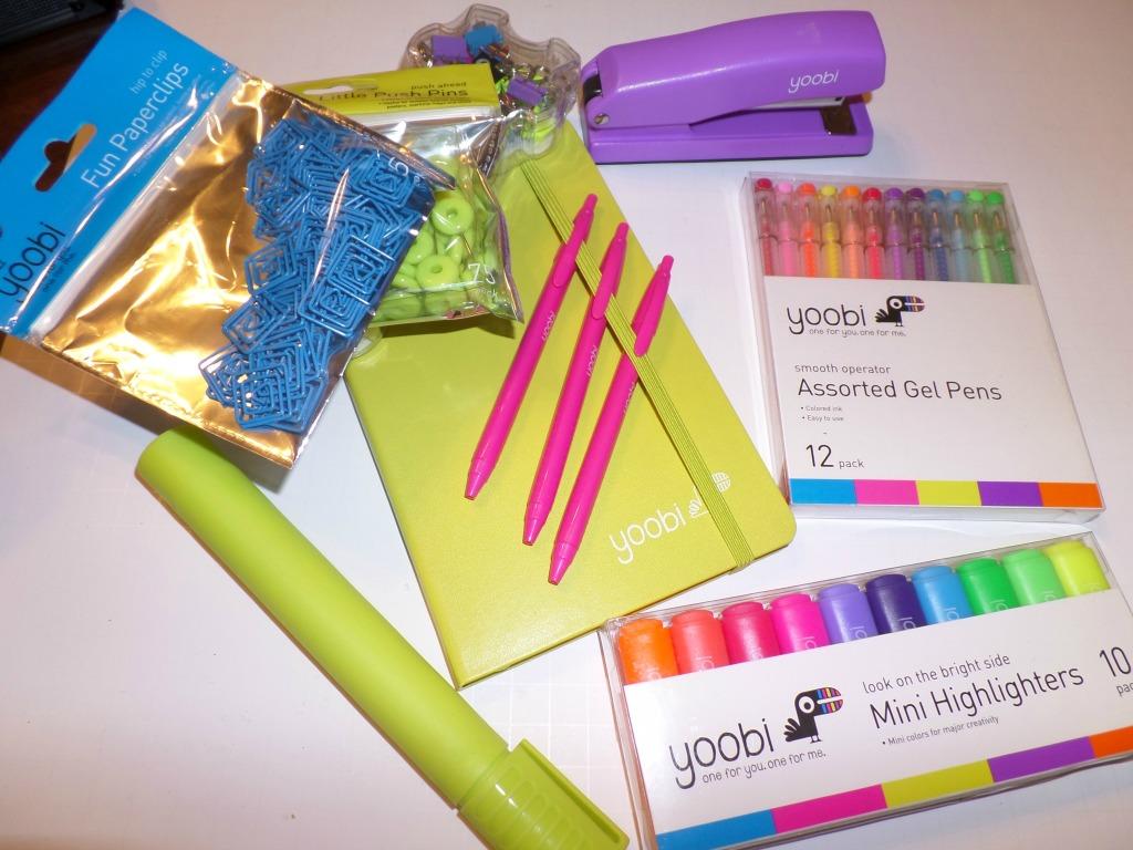 Yoobi school supplies make it easy to give back! savingsinseconds.com