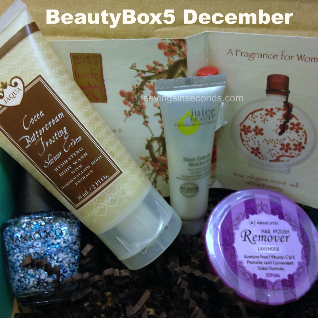BeautyBox5 unboxed - December #ad