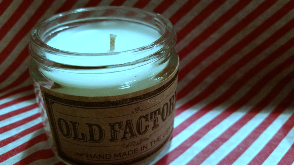 Enter to win a set of Old Factory candles - #giveaway ends 12/30 savingsinseconds.com
