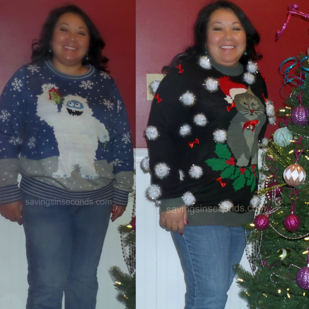 Tipsy Elves is there for you when Aunt Clara isn't.  savingsinseconds.com Ugly Christmas Sweater