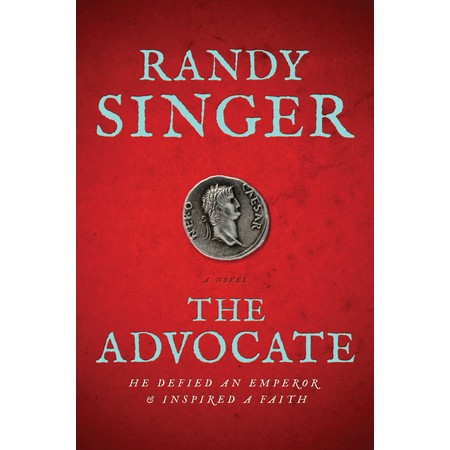 Enter to win a copy of The Advocate by Randy Singer - #giveaway at savingsinseconds.com