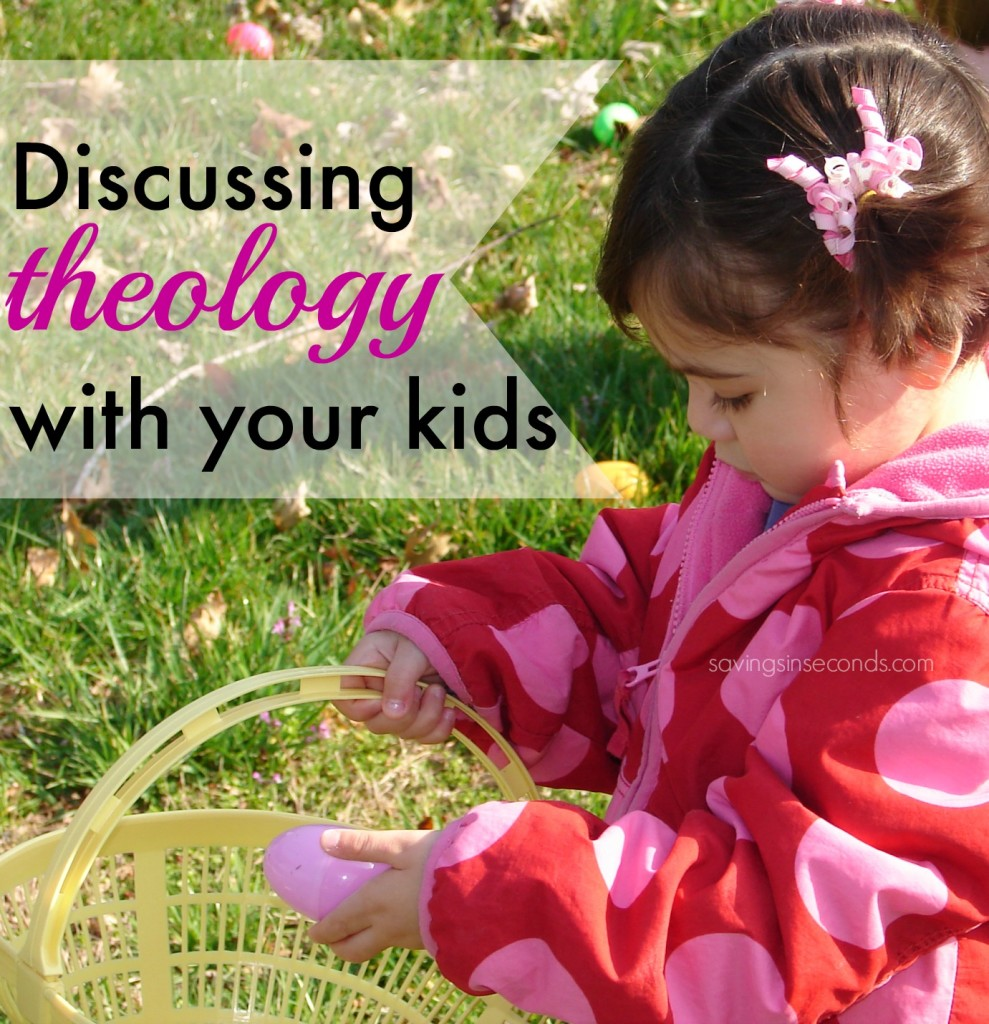 Discussing theology with your kids doesn't require a Bible degree! #FCevents #ad savingsinseconds.com