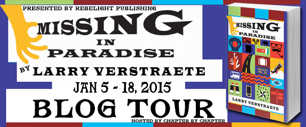 Missing in Paradise book tour