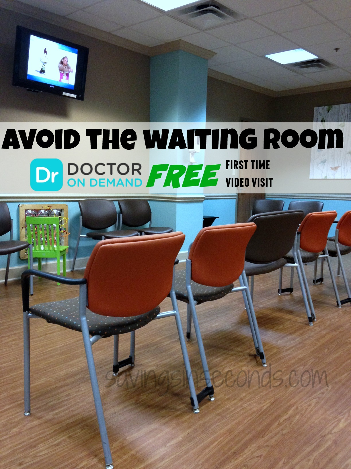 Avoid the waiting room with @DrOnDemand - the first visit is FREE for a limited time! #FeelBetter #ad savingsinseconds.com