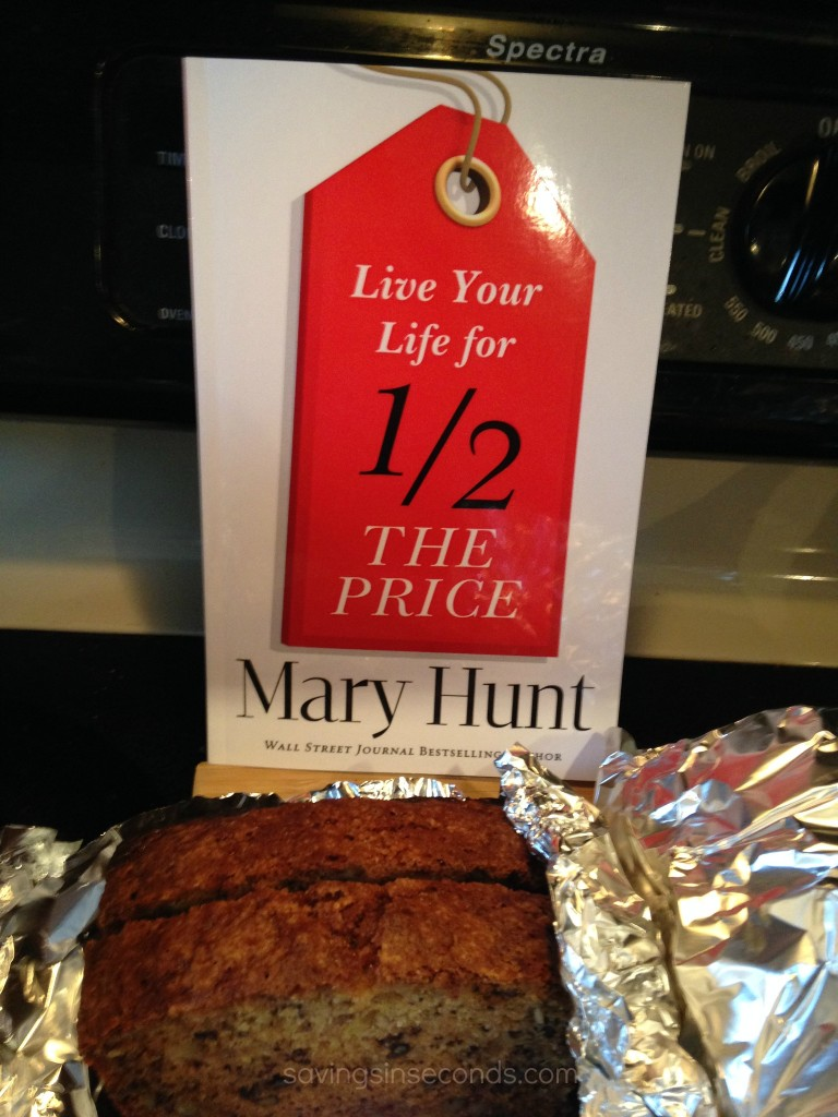 Live Your Life for Half the Price - book review and giveaway at savingsinseconds.com