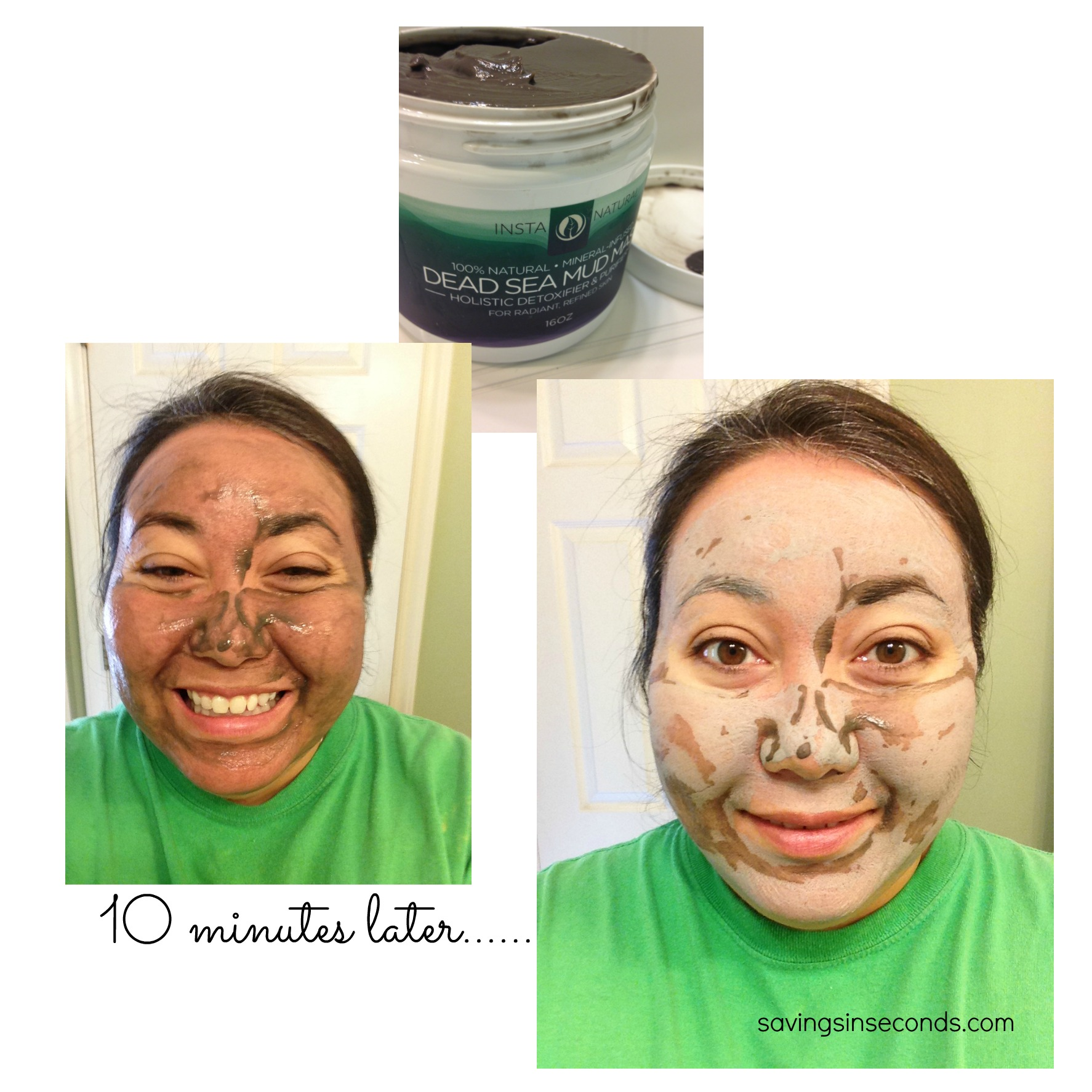 Home facial treatments do they work instanaturals when instanatural sent me the skin cleansing dead sea mud facial mask it was a great opportunity to clean out the pores and start fresh solutioingenieria Choice Image
