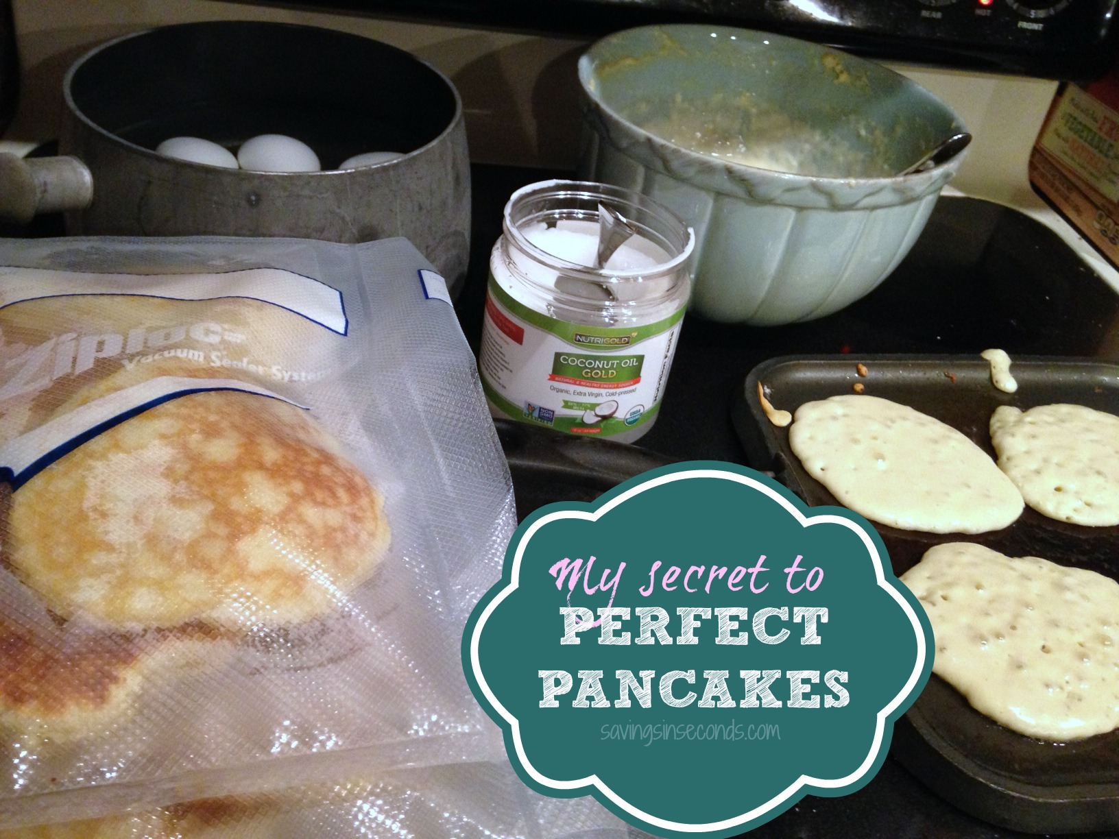 Perfect Pancakes - savingsinseconds.com