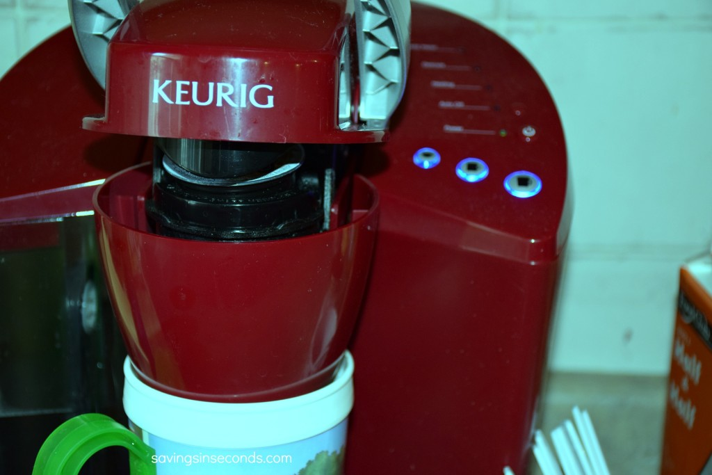 #MixCups make the Keurig the new water cooler --- #singlecupcoffee at savingsinseconds.com