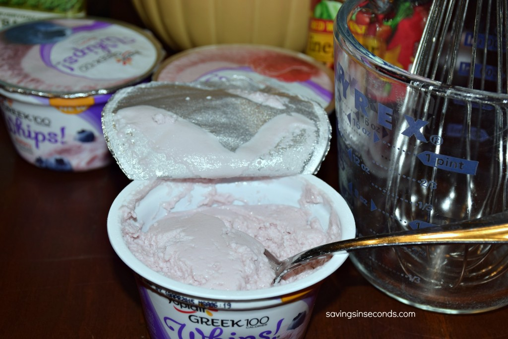 Creamy Blueberry Vinaigrette - easy recipe with only 3 ingredients. #GF #WhipItUp #ad https://ooh.li/c6fb5ba savingsinseconds.com