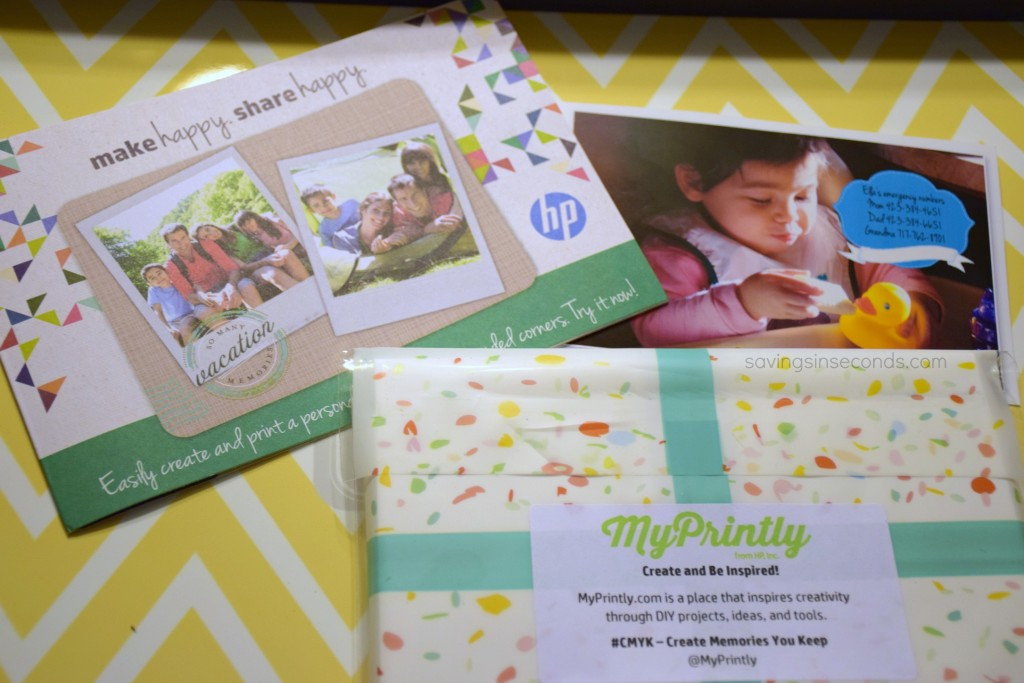 Make a free Emergency Numbers Magnet with @MyPrintly #CMYK #ad savingsinseconds.com