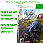 Farming Simulator 15 is perfect for #FathersDay