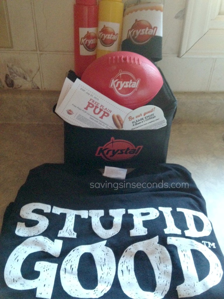 Celebrate National Hot Dog Month with Krystal - #giveaway savingsinseconds.com