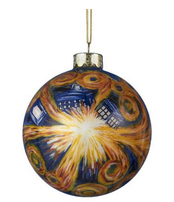 Tardis Doctor Who ornament