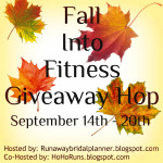 Fall Into Fitness #giveaway hop – enter to win $10 Amazon gift card